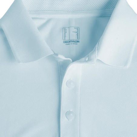 Men's Golf Light Polo Shirt - Light Blue