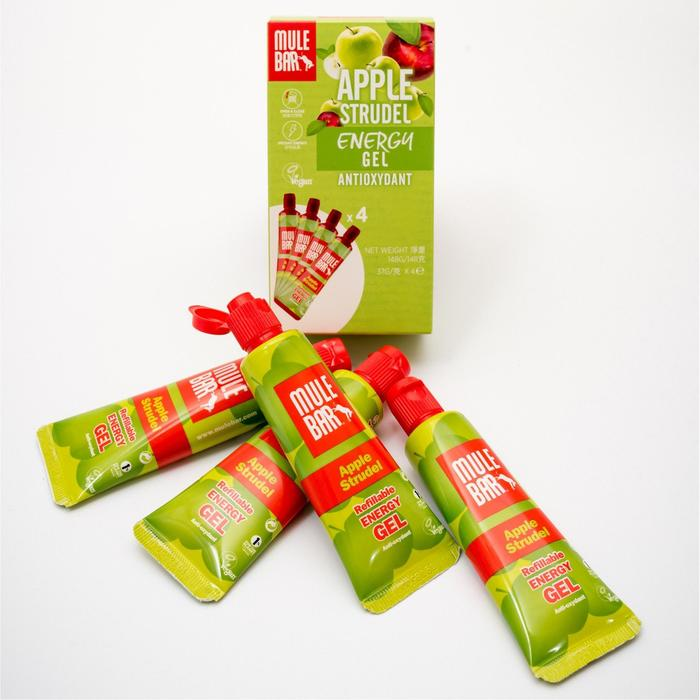 Energy Gels Apple x4