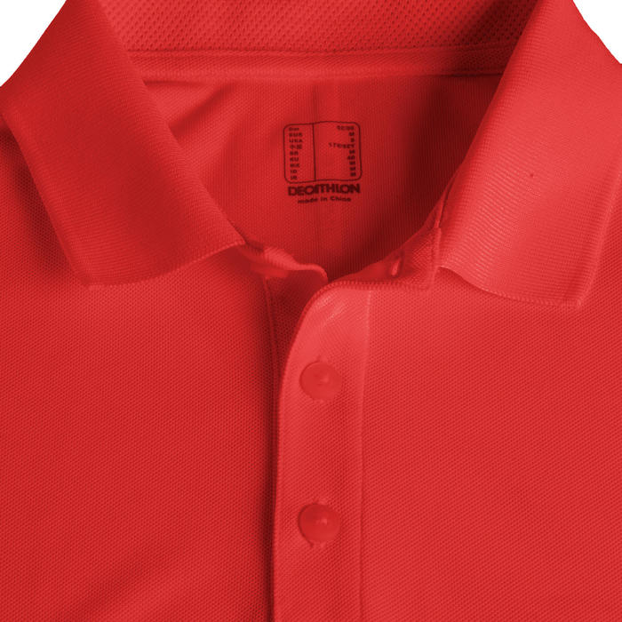 POLO DE GOLF POUR HOMME LIGHT ROUGE VIF