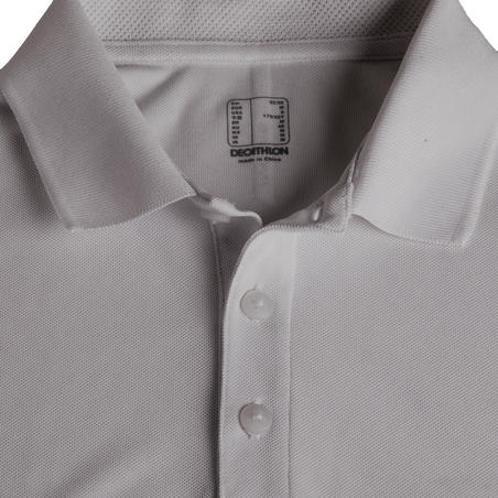 Men's Golf Light Polo Shirt - Grey