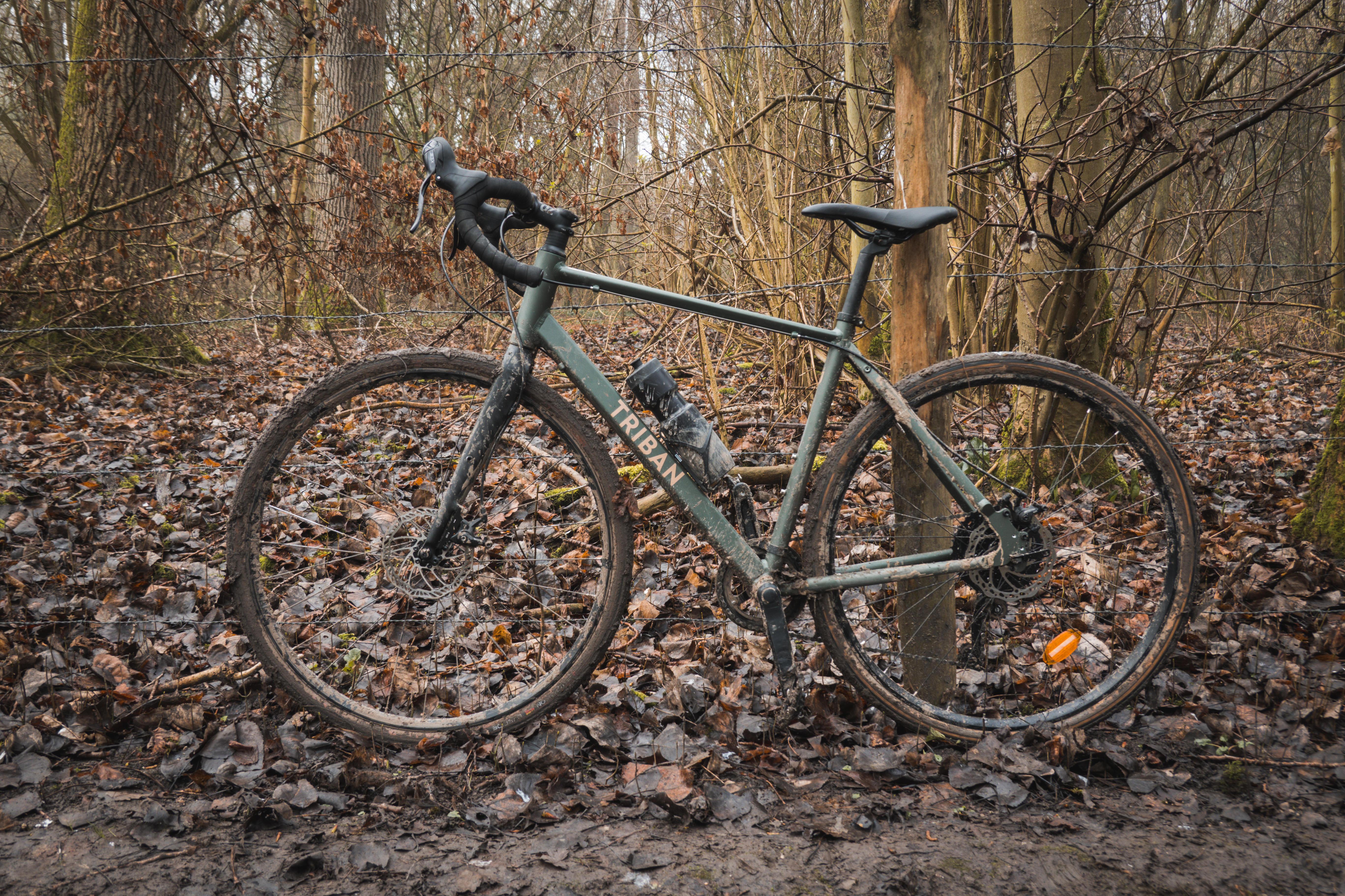 Bicicletă GRAVEL 120 Damă imagine produs