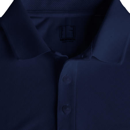 Men's Golf Light Polo Shirt - Navy Blue