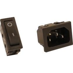Schakelaar en stopcontact