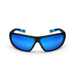 Wandelzonnebril voor volwassenen - MH570 - zwart/blauw categorie 4