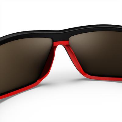 Сонцезахисні окуляри 570 для туризму, поляризаційні, кат. 4 – чорні/червоні