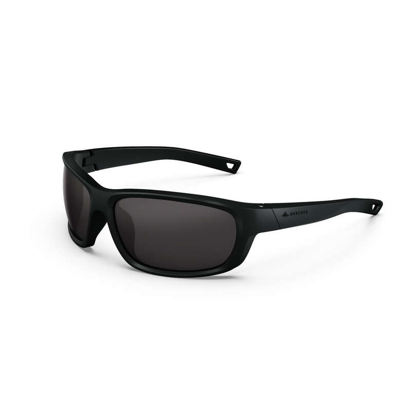 ADULT MOUNTAIN HIKING SUNGLASSES Hiking - MH500 Cat3 - black QUECHUA - Hiking