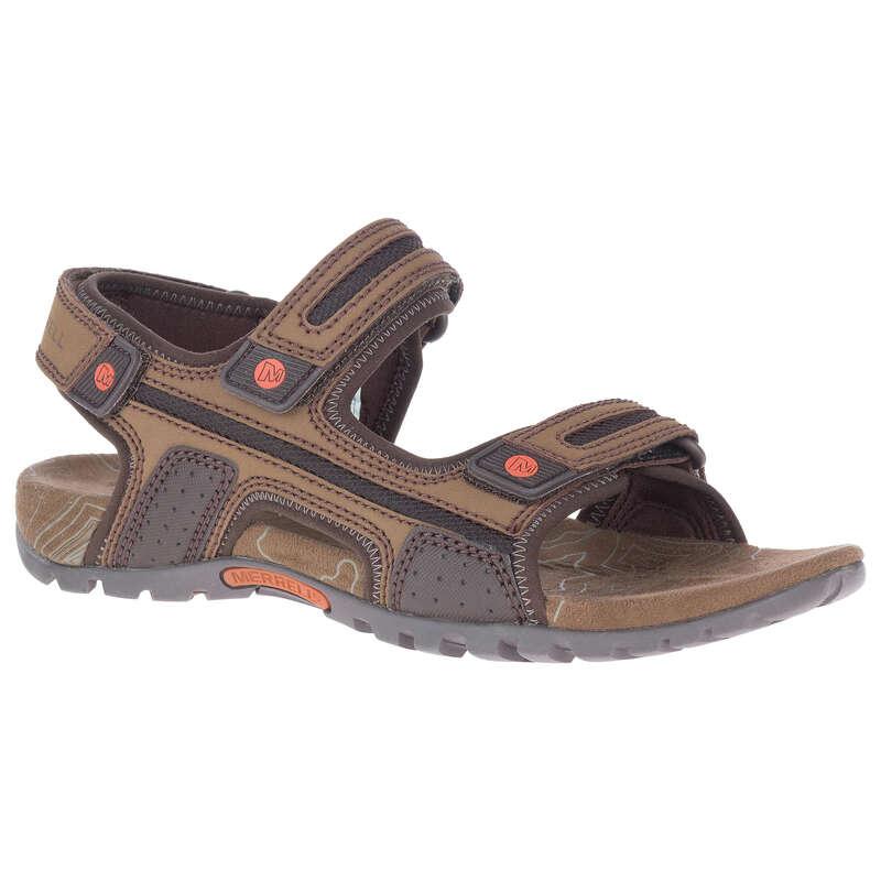 PÁNSKÉ SANDÁLY DO TEPLÉHO POČASÍ Turistika - Sandály Sandspur hnědé  MERRELL - Turistická obuv