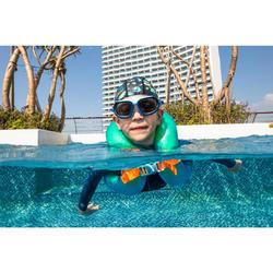 游泳充氣式背心18-30 kg-綠色