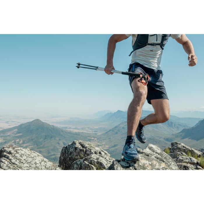 1 tweedelige wandelstok voor fast hiking FH500 wit