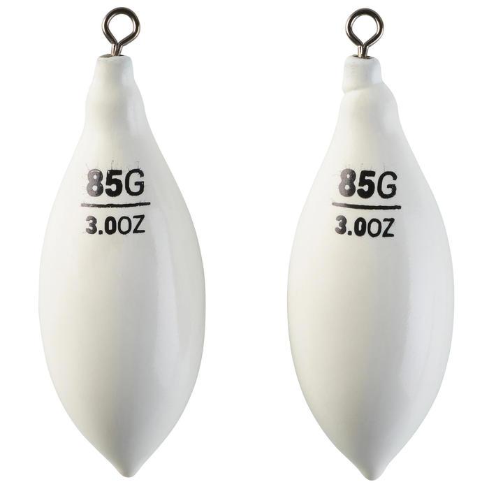 Plomb siliconé pêche en surfcasting distance SW FD WH