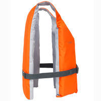 Chaleco Ayuda Flotación Kayak Stand-Up Paddle Vela Ligera Rojo BA 50N DTC
