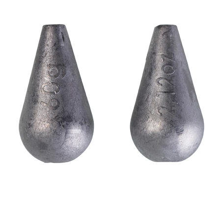 FISHING SINKERS SLIDER SW LAR SDR