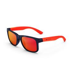 Sonnenbrille Wandern MH T140 Kinder ab 10 Jahren Kategorie 3 orange
