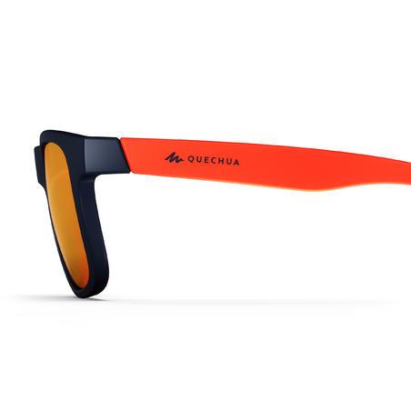 Дитячі сонцезахисні окуляри 140 для туризму, кат. 3 - Помаранчеві