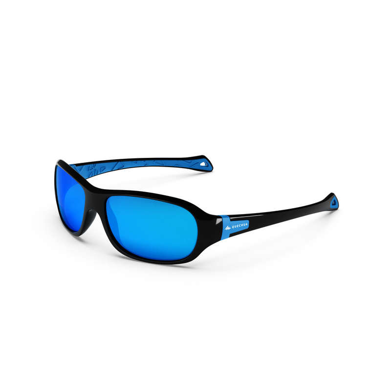SUNGLASSES JUNIOR Hiking - MH500 POLA CAT4 - BLUE QUECHUA - Hiking