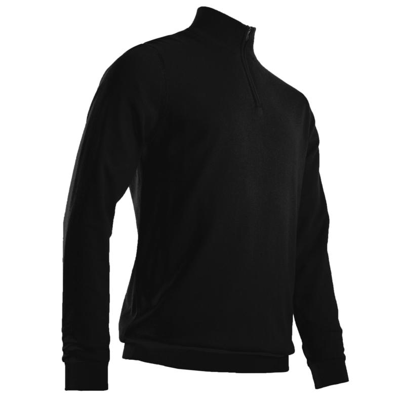 Men's golf windbreaker pullover MW500 black