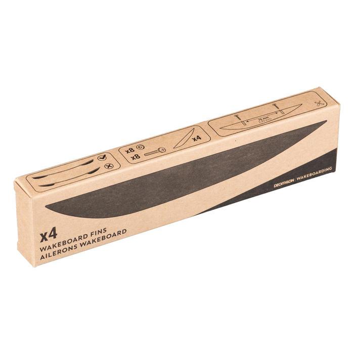Wakeboard-Finnen Achsabstand 7,6cm Set mit 4 Stück