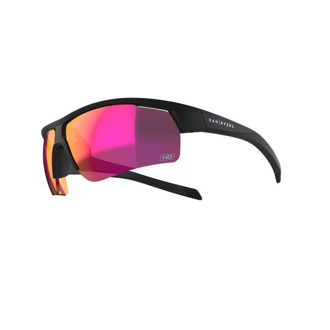 Adult Cycling Cat 3 High Definition Sunglasses Roadr 500 - Black