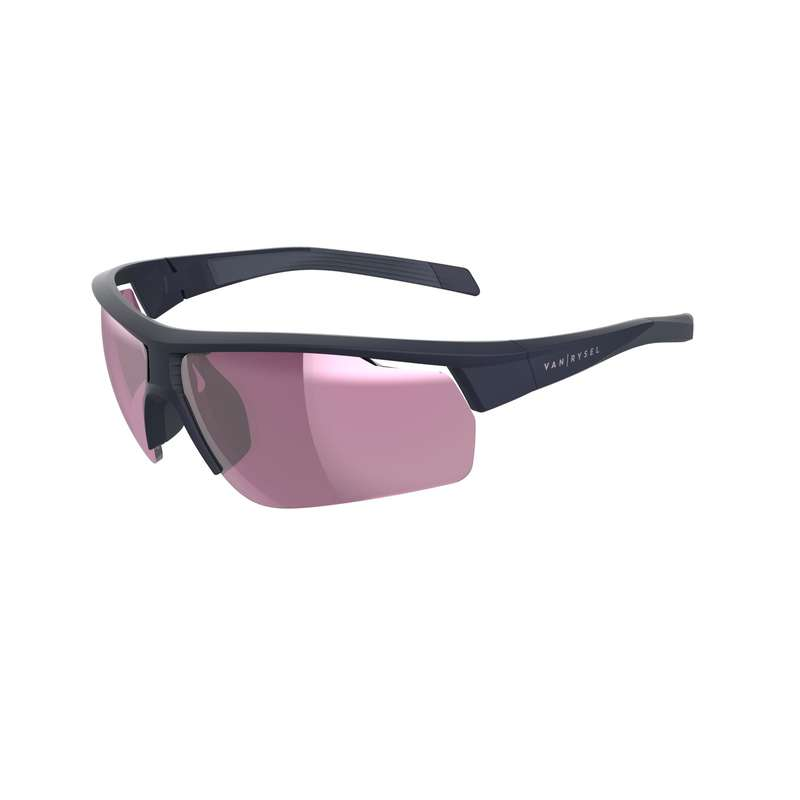 ROAD CYCLING SUNGLASSES Cycling - Cat 3 RoadR 500 - Navy VAN RYSEL - Clothing