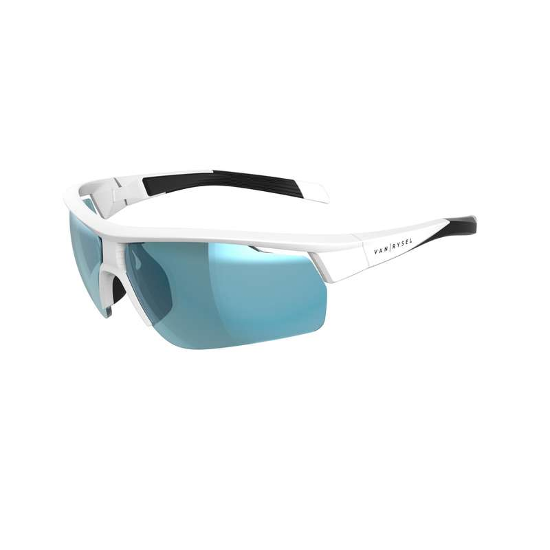 ROAD CYCLING SUNGLASSES Cycling - Cat 3 Road 500 - White VAN RYSEL - Clothing