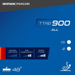 Rubber voor tafeltennisbat TTRB 900 ALL