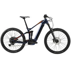 "Elektrische full suspension mountainbike E-AM 100S 27.5""+ blauw"