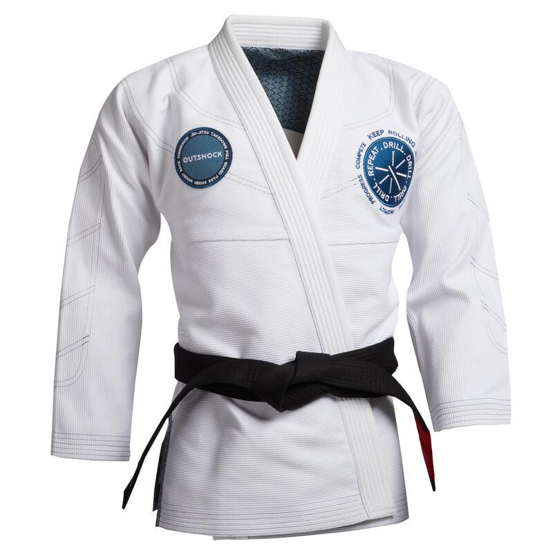 Chaqueta kimono JJB 900 - Blanco