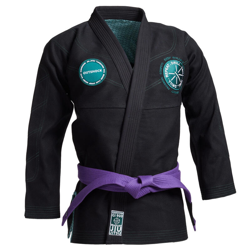 Kimono Jiu-Jitsu JJB 900 Negru