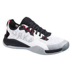 Chaussures de handball adulte FASTER H900 blanc noir