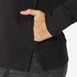 Veste à Capuche Training Femme 100 Noir