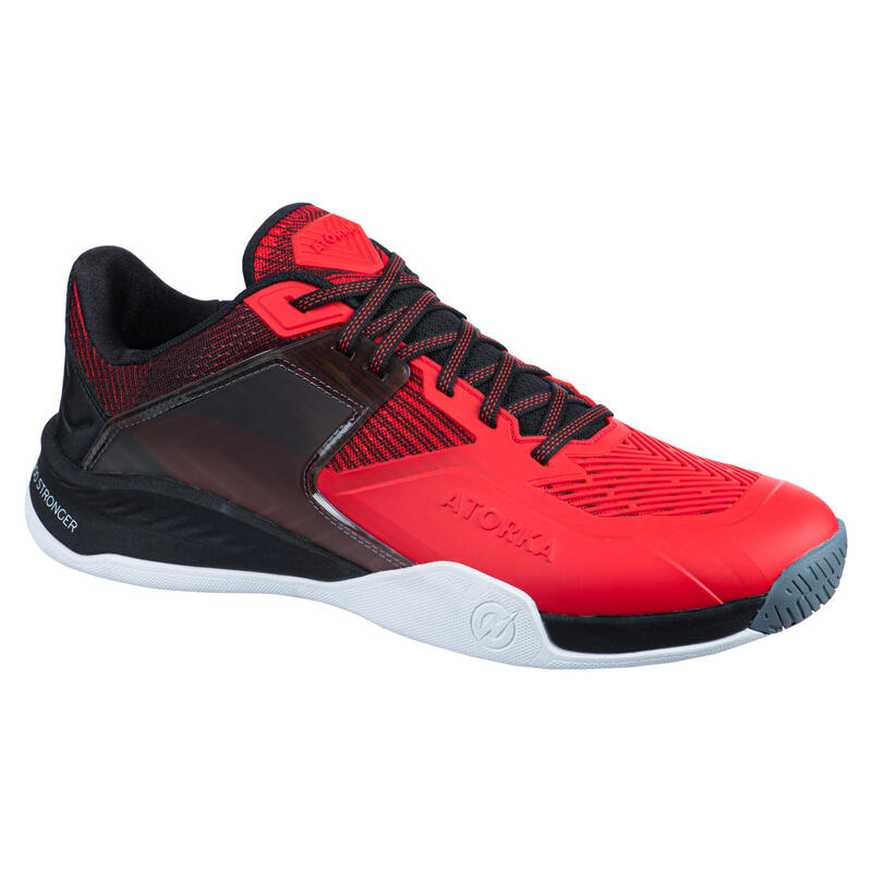 Încălțăminte Handbal H900 Stronger Roșu-Negru Bărbaţi