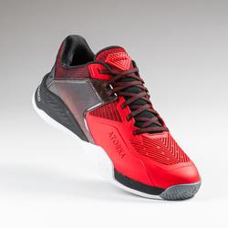 Handbalschoenen voor heren H100 stronger rood/zwart