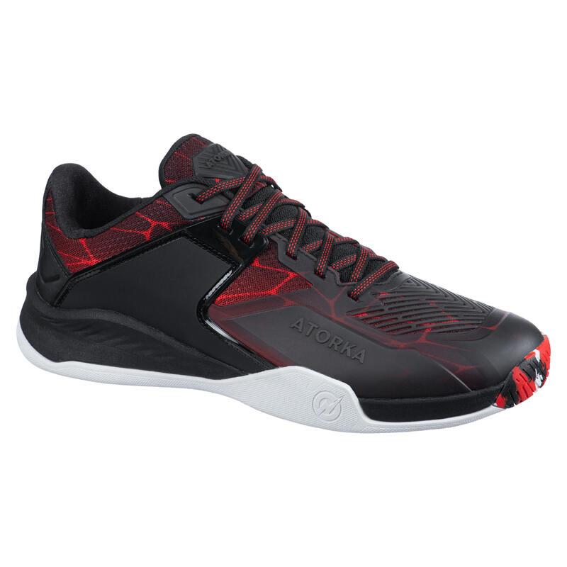 Men's Handball Shoes H900 Stronger - Magma/Black