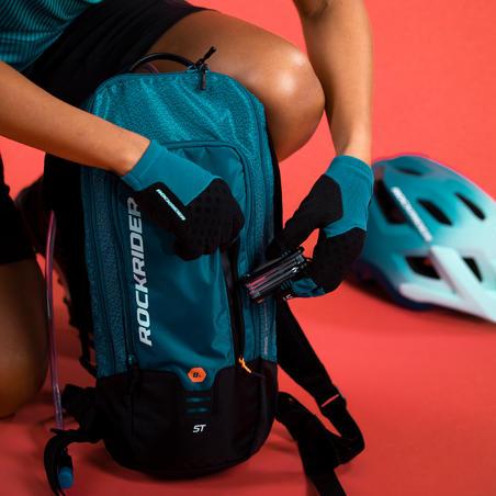 """Mugursomas dzeršanas sistēma kalnu riteņbraukšanai """"ST 520"""", 7 l, tirkīza"""