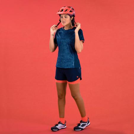 ST 100 Short-Sleeved Mountain Bike Jersey - Women