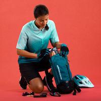 Women's Short-Sleeved Mountain Bike Jersey ST 500 - Turquoise