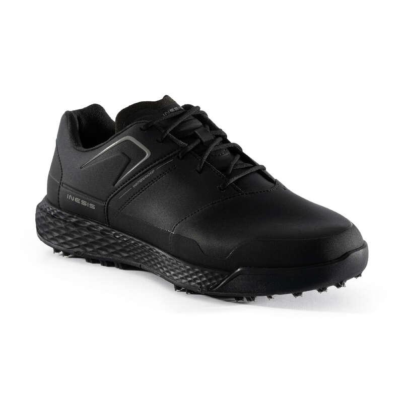RIDING GLOVES WOMAN Golf - MEN'S WATERPROOF GRIP INESIS - Golf Shoes