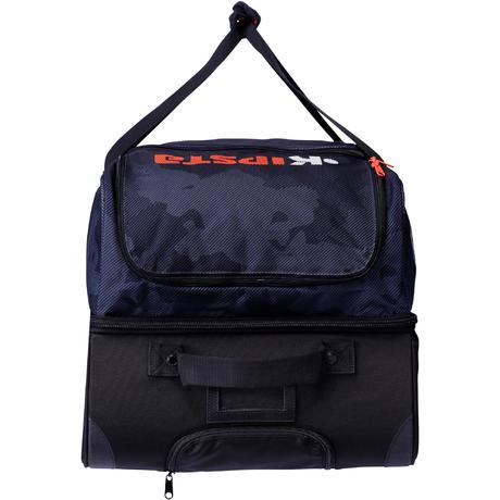 sac de sports collectifs roulettes hardcase 105 litres noir orange kipsta by decathlon. Black Bedroom Furniture Sets. Home Design Ideas