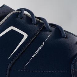 Golfschoenen voor jongens grip waterproof marineblauw