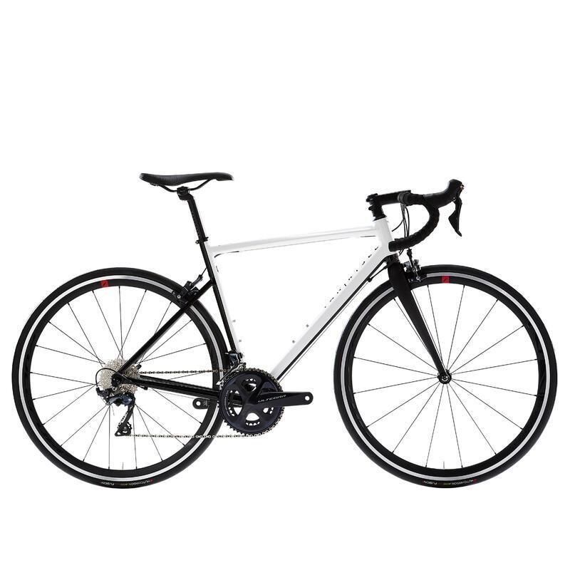 EDR AF Road Bike, White/Black - Ultegra