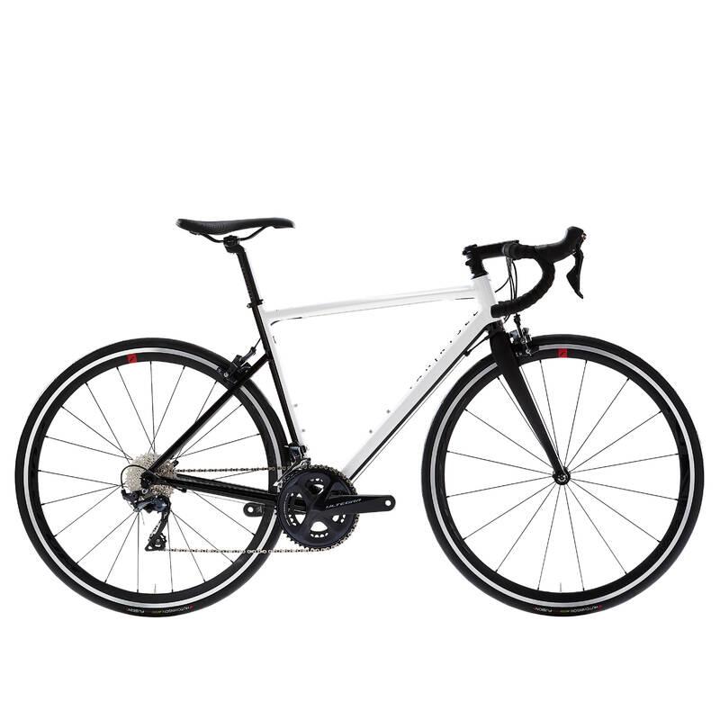 PÁNSKÁ SILNIČNÍ ZÁVODNÍ KOLA Cyklistika - SILNIČNÍ KOLO EDR AF BÍLÉ VAN RYSEL - Jízdní kola