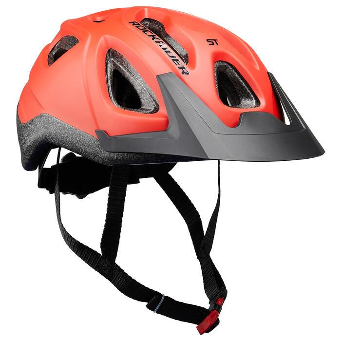 CASQUE Vélo VTT ST 100 ROUGE