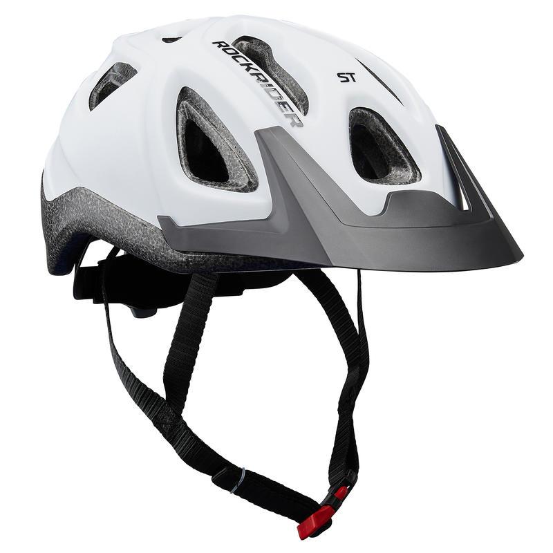 CASCO Ciclismo BTT ST 100 BLANCO