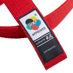 WKF Ceinture Karate 3.1 M ROUGE