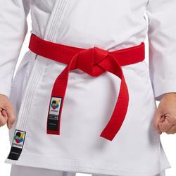 WKF karateband 2.8m rood