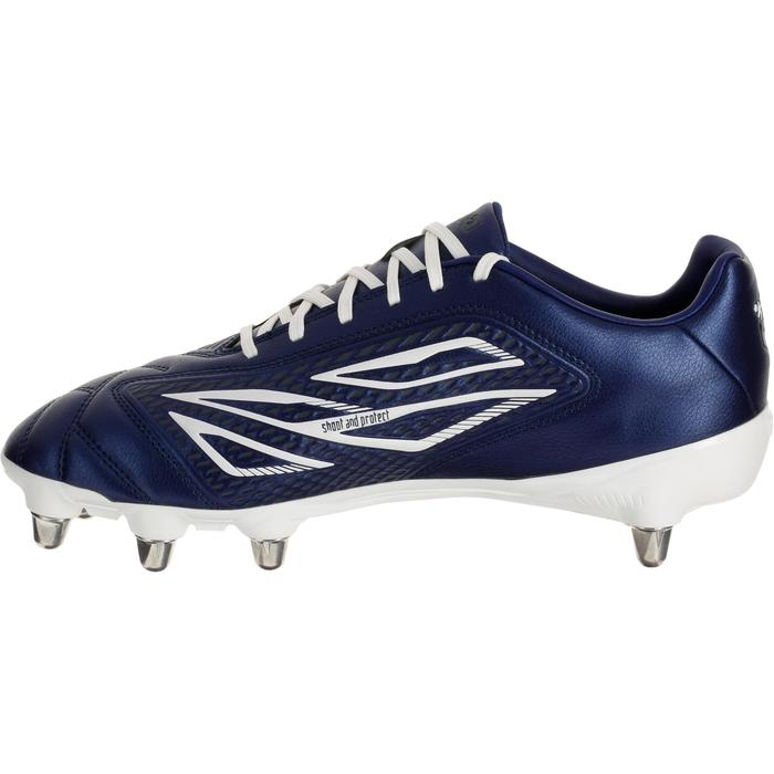 chaussures rugby adulte 8 crampons Density 300 bleu - 183019