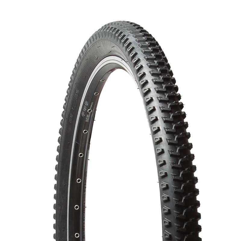 PLÁŠTĚ NA MTB SMÍŠENÝ TERÉN Cyklistika - PLÁŠŤ PRO MTB 5 SPEED 26×2 BTWIN - Náhradní díly na kolo