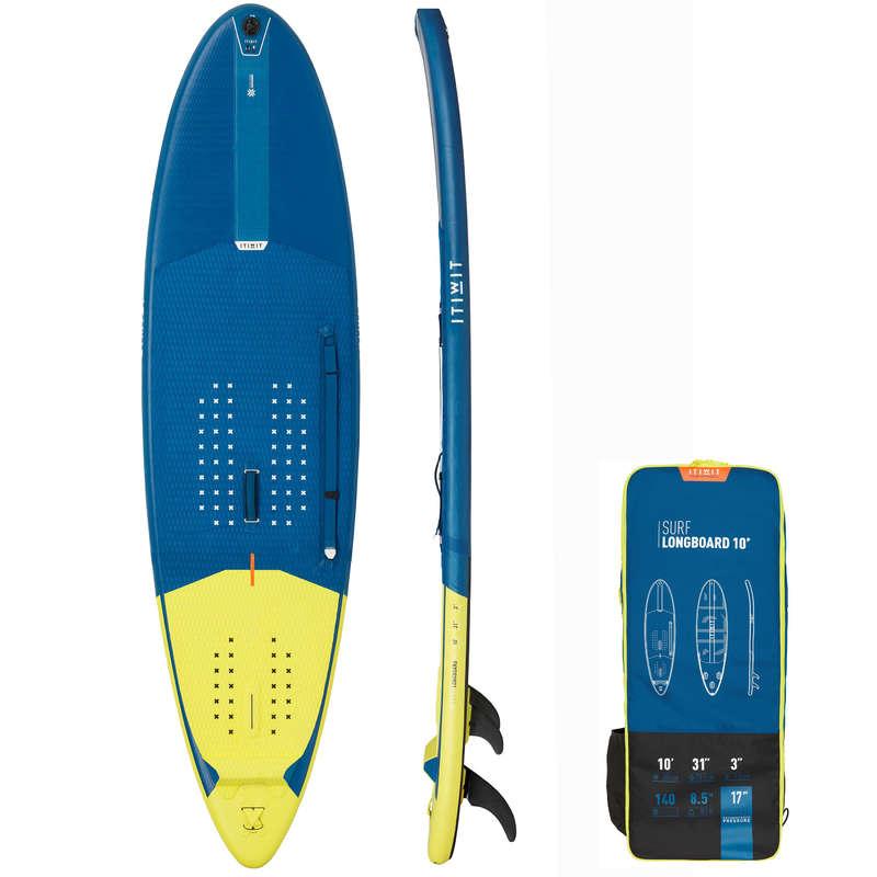 SUP-ДОСКА НАДУВ Каякинг и САП - Лонгборд для серфинга надувной ITIWIT - Семьи и категории