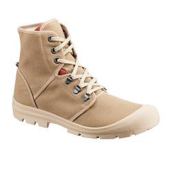 中性沙漠健行防沙靴Desert 500-棕色