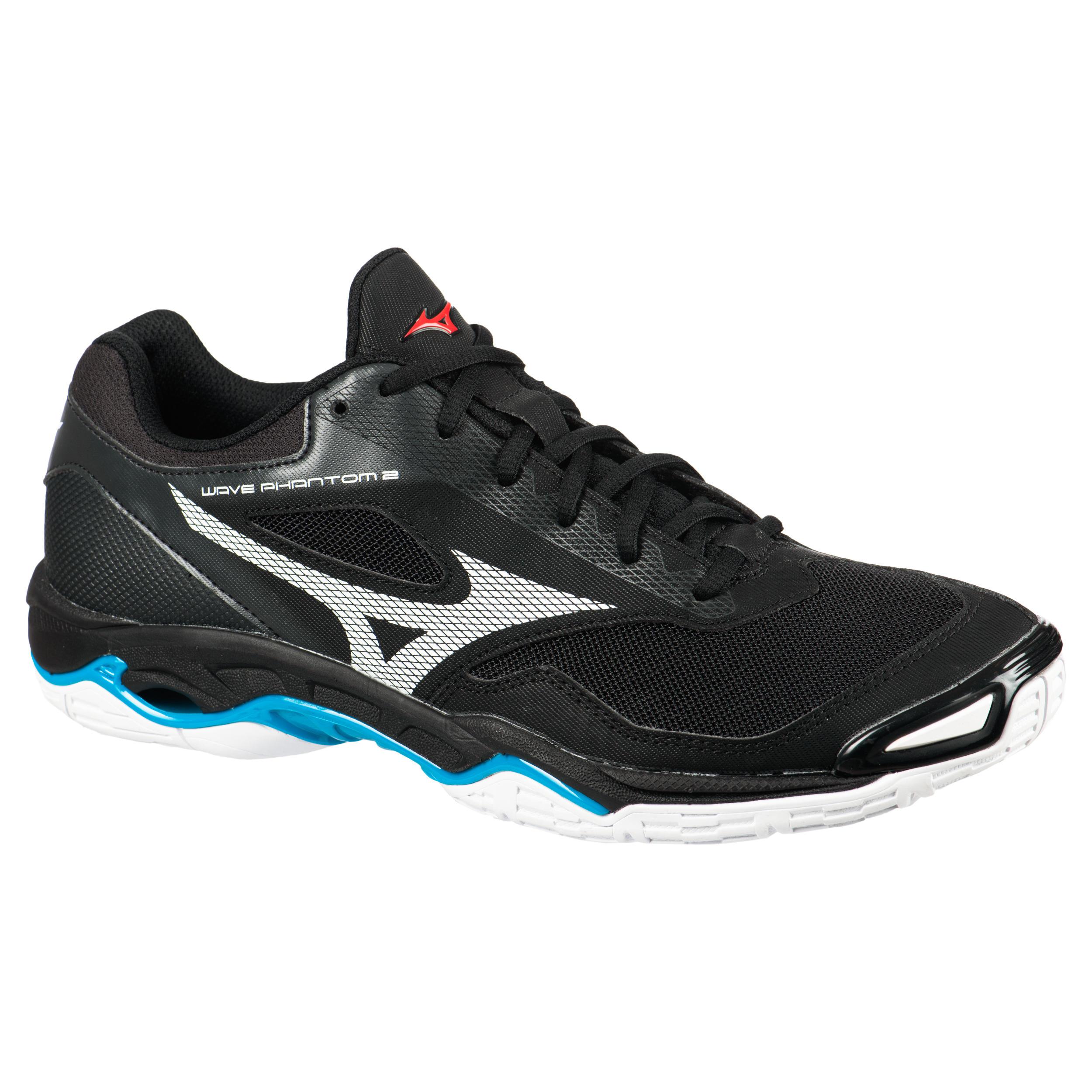 Handballschuhe Wave Phantom 2 Herren schwarz/weiss | Schuhe > Sportschuhe > Handballschuhe | Mizuno